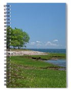 Sheffield Island Coast Spiral Notebook