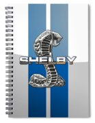 Shelby Cobra - 3d Badge Spiral Notebook