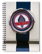 Shelby Cobra Gt 350 Ford Mustang Spiral Notebook