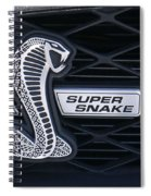 Shelby Gt 500 Super Snake Spiral Notebook