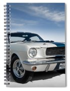 Shelby Mustang Gt350 Spiral Notebook