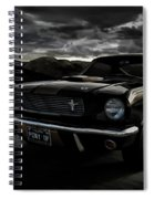 Shelby Gt350h Rent-a-racer Spiral Notebook
