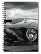 Shelby Super Snake Mustang Grille And Headlight Spiral Notebook
