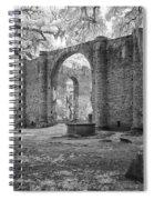 Sheldon Church Ruins Spiral Notebook