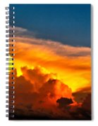 Shelf Cloud 01 Spiral Notebook