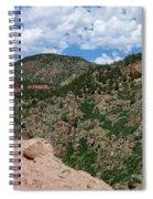 Shelf Road Drop Off Spiral Notebook