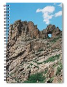 Shelf Road Rock Formations Spiral Notebook