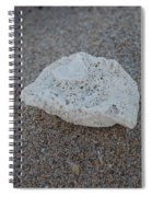 Shell And Sand Spiral Notebook