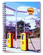 Shell Station Spiral Notebook