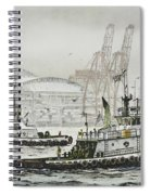Shelly And Wedell Foss Spiral Notebook