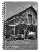 Shelter From The Storm 2 Wrayswood Barn Spiral Notebook