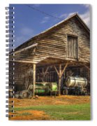 Shelter From The Storm Wrayswood Barn Spiral Notebook