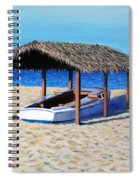Sheltered Boat Spiral Notebook