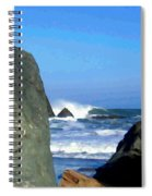 Sheltered From The Wind Spiral Notebook