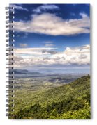 Shenandoah National Park - Sky And Clouds Spiral Notebook