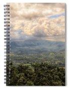 Shenandoah Valley - Storm Rolling In Spiral Notebook