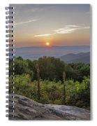 Shenandoah Valley Sunset  Spiral Notebook