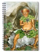 Shennong, Chinese Deity Of Medicine Spiral Notebook