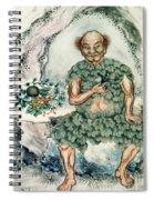 Shennong, Chinese God Of Medicine Spiral Notebook