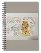 Shenya Custom Made Painting  Spiral Notebook