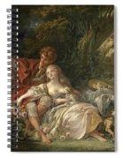 Shepherd And Shepherdess Spiral Notebook