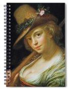 Shepherdess Spiral Notebook