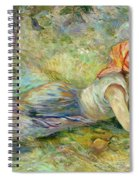 Shepherdess Resting Spiral Notebook
