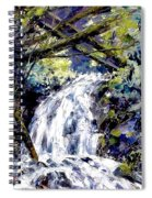 Shepherds Dell Falls Coumbia Gorge Or Spiral Notebook