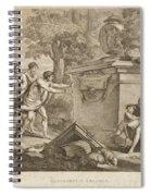 Shepherds In Arcadia Spiral Notebook