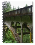Shepperds Dell Bridge Spiral Notebook