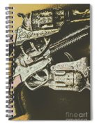 Sheriff Guns Spiral Notebook
