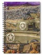 Sherman Attack Spiral Notebook