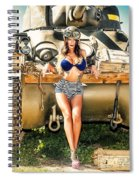 Sherman Tank Pin-up Spiral Notebook