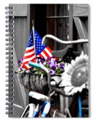 She's A Grand Old Flag Spiral Notebook