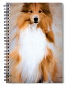 Shetland Sheepdog - Sheltie Spiral Notebook