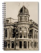 Shibe Park 1913 In Sepia Spiral Notebook