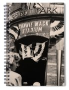 Shibe Park - Connie Mack Stadium Spiral Notebook