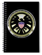 S.h.i.e.l.d. Spiral Notebook