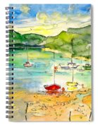 Shieldaig In Scotland 03 Spiral Notebook