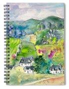 Shieldaig In Scotland 06 Spiral Notebook