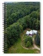 Tilt-shift Farm Spiral Notebook