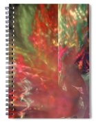 Shimmer Leaves Spiral Notebook