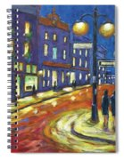 Shimmering Night Spiral Notebook