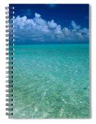 Shimmering Ocean Spiral Notebook