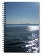 Shimmering Sea Spiral Notebook