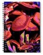 Shimmering Shrooms Spiral Notebook