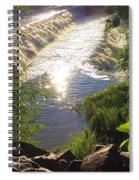Shimmering Sun Rays On Colorado Springs Spiral Notebook