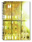 Shine A Light Spiral Notebook
