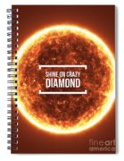 Shine On Crazy Diamond Spiral Notebook