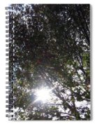 Shinning Sun Spiral Notebook